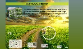 Copy of AGRICULTURA MODERNA Y SEGURIDAD ALIMENTARIA