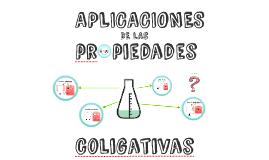 Copy of Aplicaciones de las propiedades coligativas