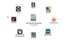 iPad Creativity Camp Showcase