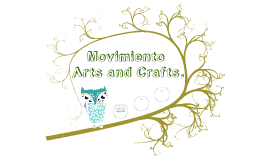 Movimiento arts and crafts
