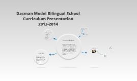 Copy of Dasman Model Bilingual School Curriculum Presentation