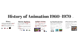 History of Animation 1960s and 1970s