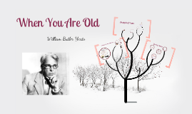 Copy of When You Are Old - William Butler Yeats Presentation