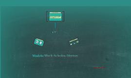Modelo Black-Scholes-Merton