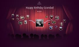 Happy Birthday Grandad