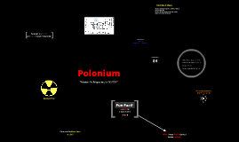 Polonium Element Project