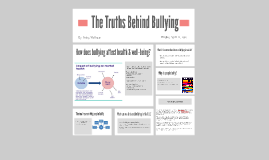 The Truths Behind Bullying