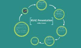 RSAE Presentation