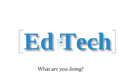 Copy of Ed Tech Survey -- Training