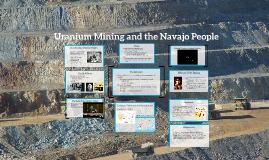 Uranium Mining and the Navajo People