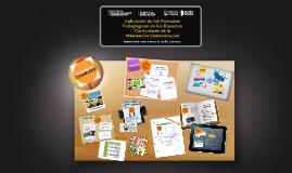 Aplicación de los Formatos Pedagógicos en los Espacios Curri