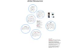Artist Resources