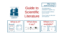 Guide to Scientific Literature (Chem)