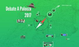 Debate A Palooza 2017