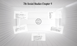 7th Social Studies Chapter 4