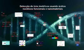 Detecção de íon metálicos usando ácidos nucléicos