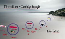 Copy of Förstelärare - Specialpedagogik