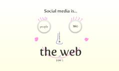 Copy of Social media is...