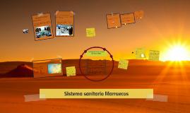 Sistema sanitario Marruecos