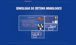 Semiologia do sistema imunologico