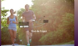 Copy of Test de Léger