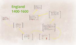 Copy of England 1400-1600