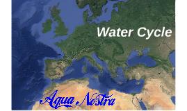 Aqua Nostra : Water cycle
