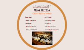 Franz Liszt i Béla Bartók