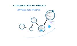 Capítulo 7: Comunicación en Público: Estrategia para Informar.