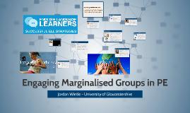 Engaging Marginalised Groups in PE