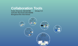Collaborative Tools