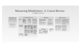 Copy of Measuring Mindfulness: A Critical Review