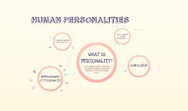 Human Personalities
