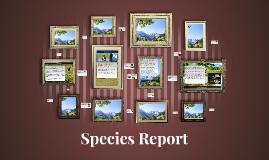 Species Report