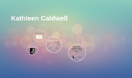 Kathleen Caldwell