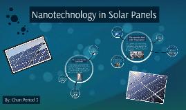 Nanotechnology in Solar Panels