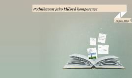 Podnikavost jako klíčová kompetence