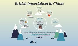 British Imperialism in China