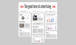 The influence of advertising