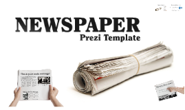 Newspapers prezi template by Prezzip.com