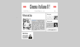 Cinema italiano II !