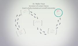 Dr. Walter Pauk bio