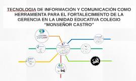 TECNOLOGIA DE INFORMACIÓN Y COMUNICACIÓN COMO HERRAMIENTA PA