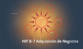 Copy of NIF B-7 Adquisición de Negocios