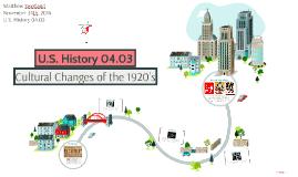 U.S. History 04.03
