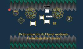 Determinación de Etanol mediante Cromatografía Gaseosa