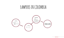 LAWYERS IN COLOMBIA