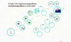 Grupo 122: Aspectos geográficos, sociodemográficos y culturales