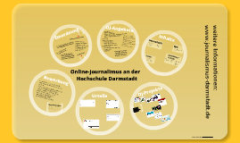 Online-Journalismus studieren an der Hochschule Darmstadt