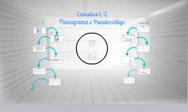 Conceitos 1/2 - Fluxograma e Pseudocódigo